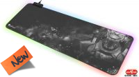 Tapete Rato Gaming Genesis BORON 500 XXL RGB 80X30cm negro